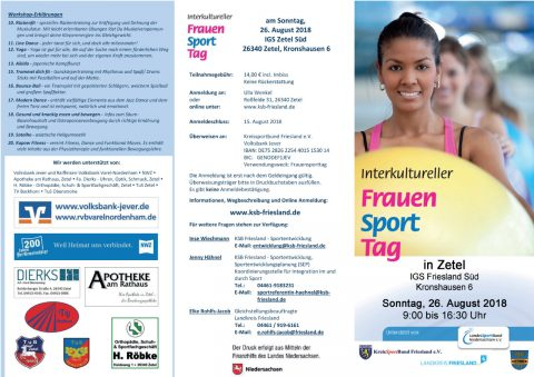26.08.2018 – Interkultureller Frauen Sport Tag in Zetel