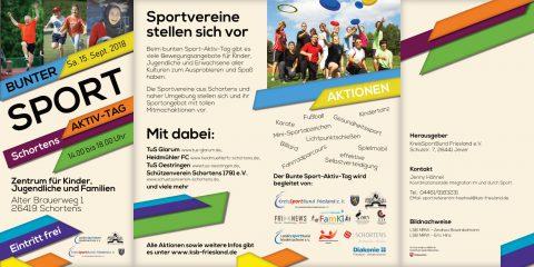 15.09.2018 – Bunter Sport-Aktiv-Tag Schortens